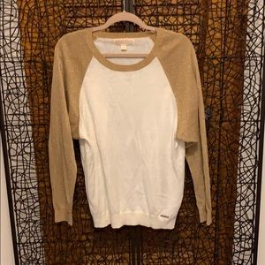 NWOT Michael Kors light weight sweater